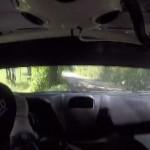 A l'intérieur de la Ford Fiesta R5