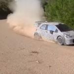 La Toyota Yaris WRC 2017 pendant les essais
