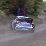 Une Hyundai I20 WRC à l'attaque
