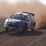 La Citroën C4 WRC de Cuoq à l'attaque