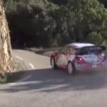 La Citroën DS3 WRC en glisse