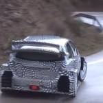 La Toyota Yaris WRC en glisse