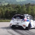 La Ford Fiesta R5 en glisse