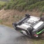 Crash d'une Renault Clio R3
