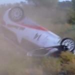 Crash d'une Citroën DS3 R3