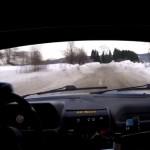 A bord de la Peugeot 205 GTI