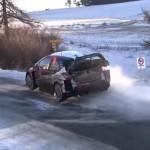La Toyota Yaris WRC à la limite