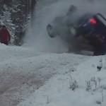 Crash d'une Subaru Iimpreza