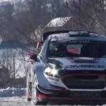 La Ford Fiesta WRC de Elfyn Evans