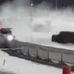 La Hyundai I20 WRC dans les barrières