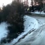 A bord de la Toyota Yaris WRC