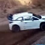 La Hyundai I20 WRC lors des essais