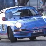 Une Porsche en glisse