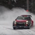 La Citroën C3 WRC au rallye de Suède