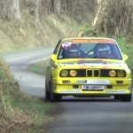 une Bmw M3 lors du rallye